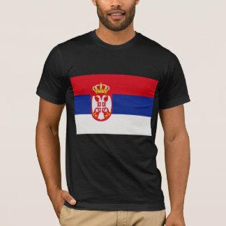 Le drapeau de la Serbie T-shirt