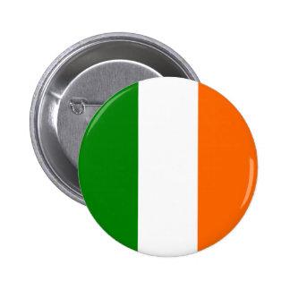 Le drapeau de l'Irlande Badge Rond 5 Cm