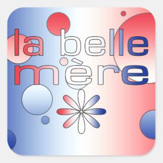 Le drapeau de Mère France de belle de La colore l Autocollant