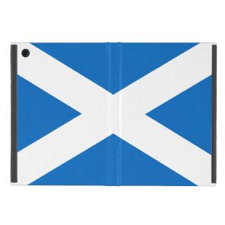 Le drapeau de Saltire d'écossais de l'Ecosse a Coque iPad Mini