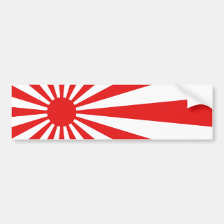 Le drapeau de Soleil Levant Autocollant De Voiture