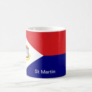 Le drapeau de St Martin Mug