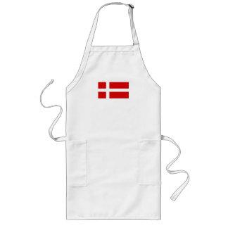 Le drapeau du Danemark Tabliers