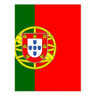 Le drapeau du Portugal (Bandeira De Portugal) Carte Postale