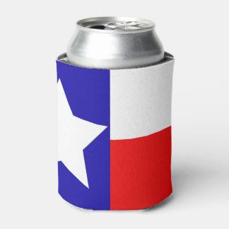 Le drapeau du Texas peut glacière