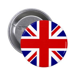 Le drapeau d'Union Jack Badge Rond 5 Cm