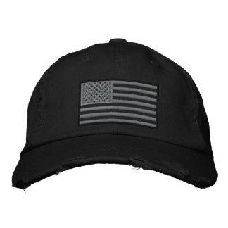 Le drapeau modéré des USA de couleurs a brodé le Casquette Brodée