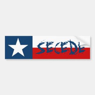 Le drapeau solitaire d'état d'étoile du Texas font Autocollants Pour Voiture