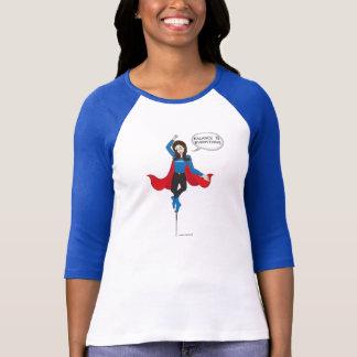 """Le """"équilibre est tout"""" T-shirt de bande dessinée"""