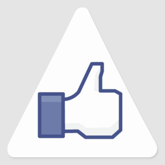 le facebook AIMENT le pouce Adhésif