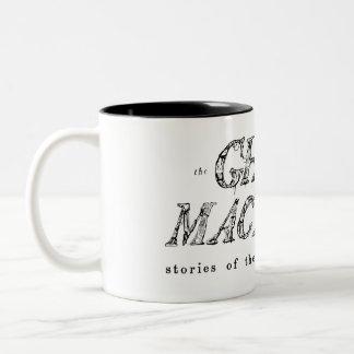 Le fantôme dans ma tasse de logo de machine