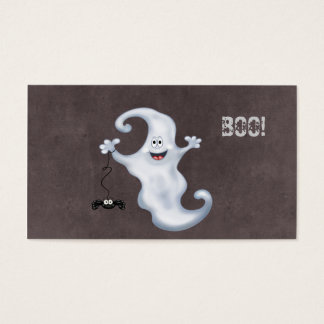 Le fantôme de Halloween huent Cartes De Visite