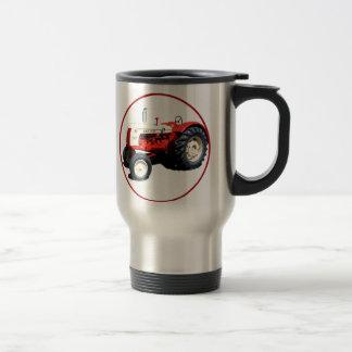 Le faucon 50 noir mug de voyage en acier inoxydable
