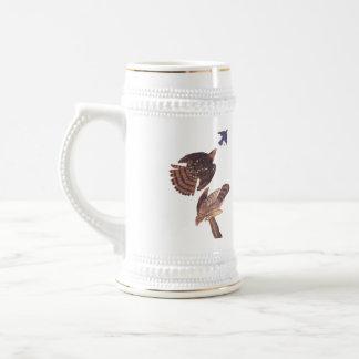 Le faucon Stein du tonnelier Chope À Bière