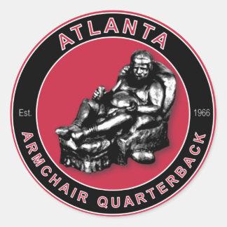 Le FAUTEUIL QB - Atlanta Sticker Rond