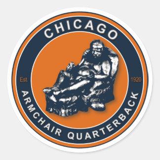 Le FAUTEUIL QB - Chicago Sticker Rond