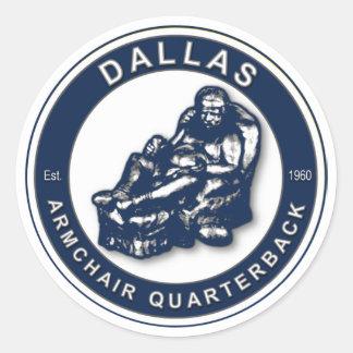 Le FAUTEUIL QB - Dallas Sticker Rond