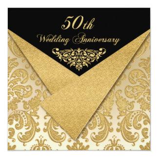 Le FAUX agite l'invitation 2 d'anniversaire de Carton D'invitation 13,33 Cm