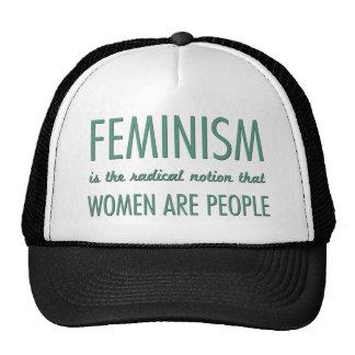 Le féminisme : La notion radicale que les femmes s Casquettes De Camionneur