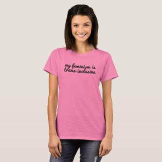 le féminisme Transport-inclus résistent au T-shirt