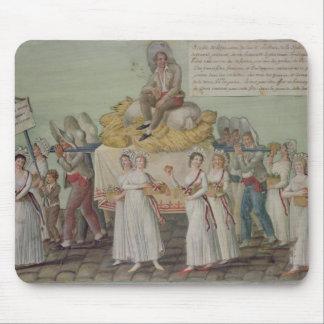 Le festin de l'agriculture en 1796 à Paris Tapis De Souris