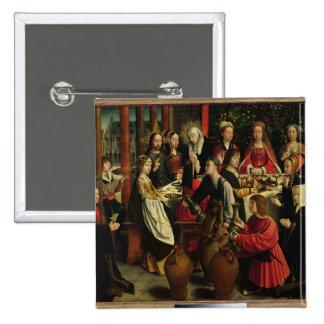 Le festin de mariage chez Cana, c.1500-03 Badges