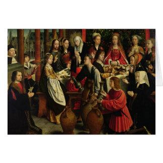 Le festin de mariage chez Cana, c.1500-03 Cartes