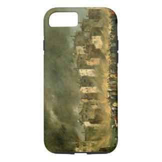 Le feu chez San Marcuola (huile sur la toile) Coque iPhone 7