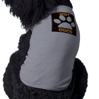 Le feu de Cocos et chemise chauds de chien de flam Tee-shirts Pour Animaux Domestiques
