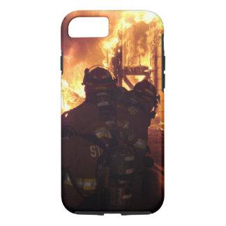 Le feu de lutte contre l'incendie de structure coque iPhone 7