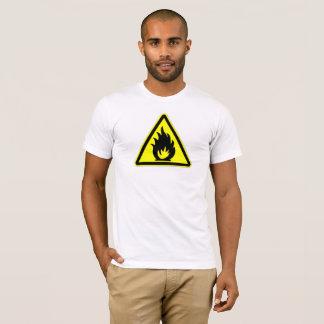 Le feu de précaution t-shirt