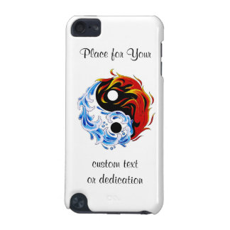 Le feu frais Yin Yang de l eau de symbole de tatou