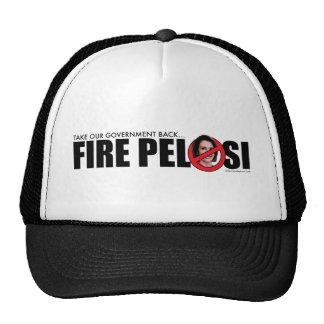 Le feu Pelosi Casquette Trucker