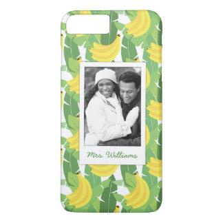 Le feuille de banane | ajoute votre photo et coque iPhone 7 plus