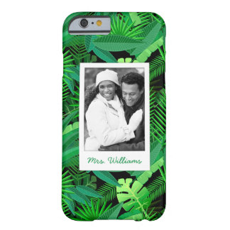 Le feuille de la paume tropicale | ajoute votre coque iPhone 6 barely there