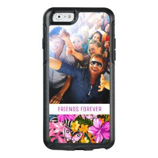 Le feuille et les fleurs tropicaux | ajoutent coque OtterBox iPhone 6/6s