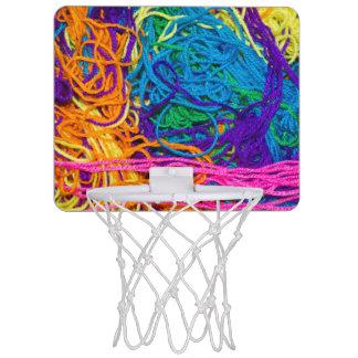 Le fil embrouille la photo mini-panier de basket