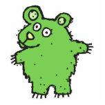 le filon-couche ygreen l'ours de bande dessinée photo sculpture