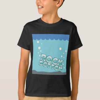 Le fin fond frappant la conception de mots t-shirts