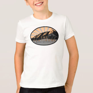 Le Flatirons, parc de Chautauqua, T-shirt de