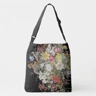 Le fleur sauvage alpin fleurit le sac fourre-tout