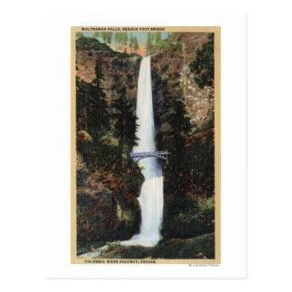 Le fleuve Columbia, OU - automnes et Benson de Carte Postale