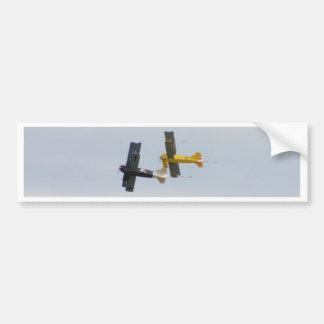 Le Fokker D.VII modèle en vol Autocollant Pour Voiture