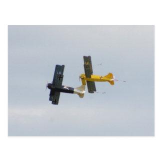 Le Fokker D.VII modèle en vol Carte Postale