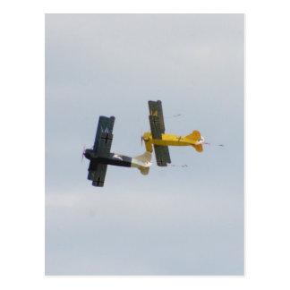 Le Fokker D.VII modèle en vol Cartes Postales