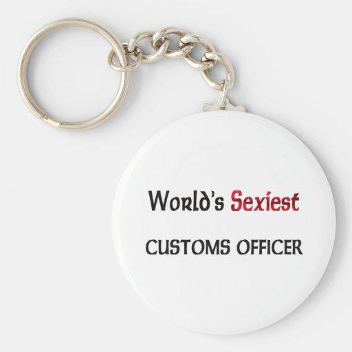 Le fonctionnaire des douanes le plus sexy du monde porte-clefs