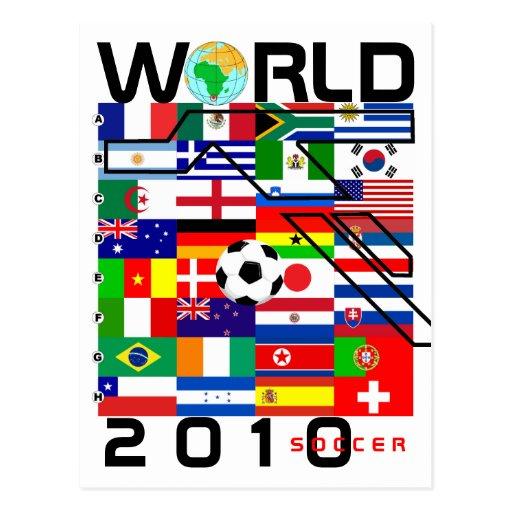 Le football 2010 de coupe du monde toute l 39 quipe carte - Toute les coupe du monde de football ...