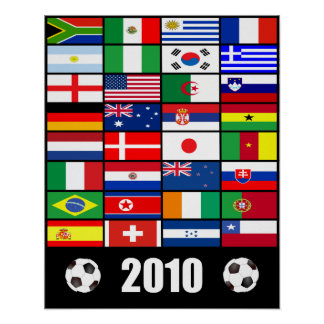 Le football 2010 poster