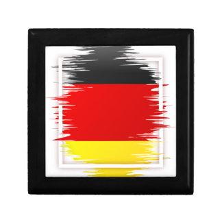 Le football allemand de drapeau boîte à souvenirs