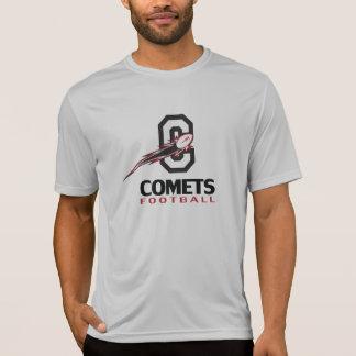 Le football de comètes - T-shirt primaire de logo